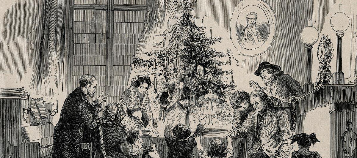 Le temps de Noël à l'Hôtel Abbatial