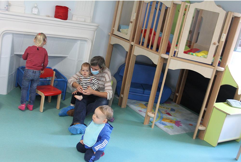 Garde d'enfants : enquête du RAM