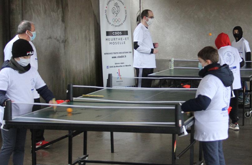 Semaine olympique : des élèves lunévillois dans le coup !