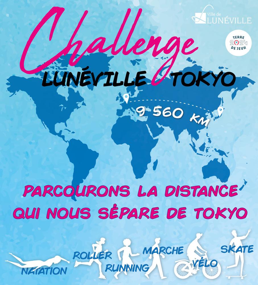 Challenge LUNÉVILLE > TOKYO