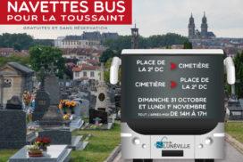 NAVETTES BUS pour LA TOUSSAINT